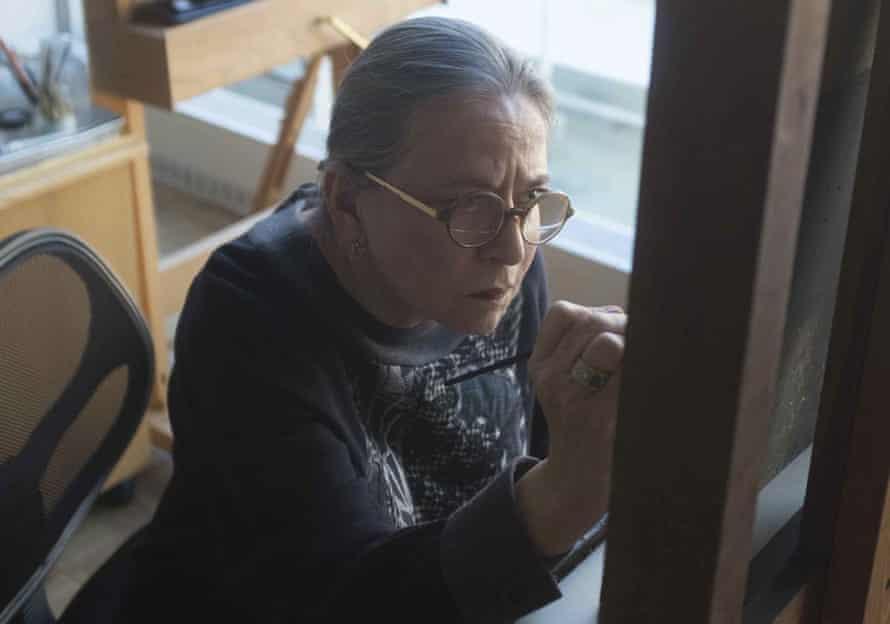 'It really is a tragedy' … restorer Dianne Modestini in a scene from The Lost Leonardo.