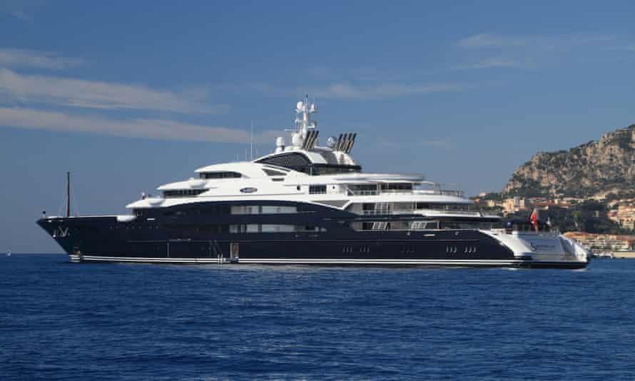 Salvator Mundi's current berth? … Mohammed bin Salman's superyacht.